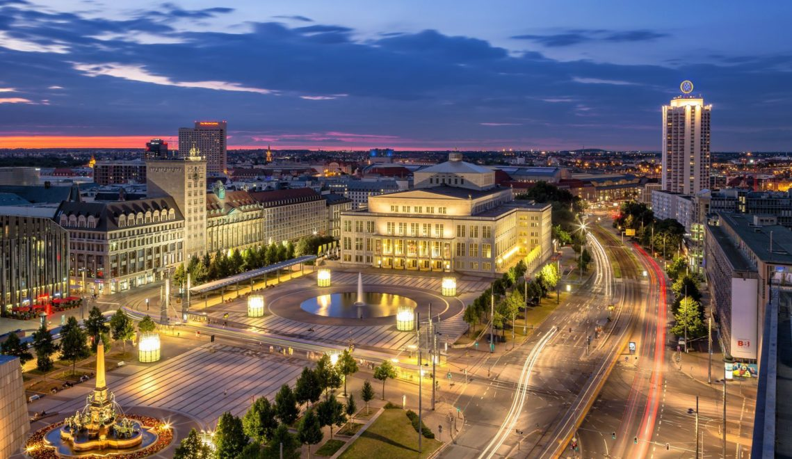 Leipzig nachts