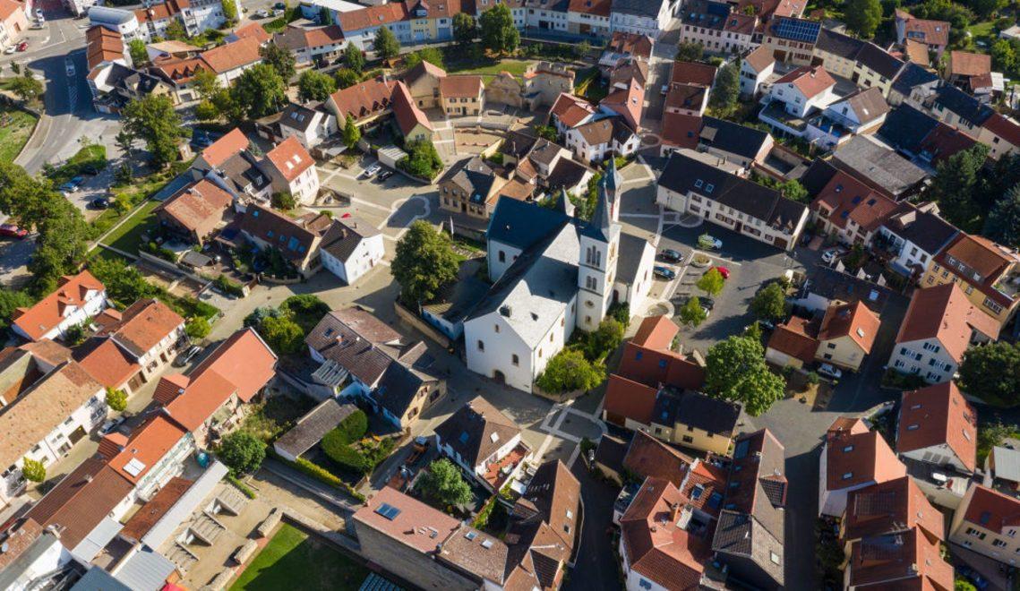 Kleine Stadt mit großer Geschichte: Blick auf Ingelheim