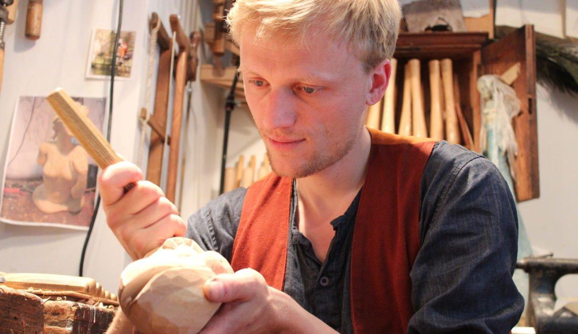 Martin Gobsch macht Marionetten fürs Theater © Christiane Würtenberger / CMR
