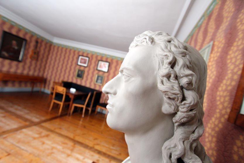 Im Schillerhaus kann man durch die Lebenswelt des Dichters wandeln © Christiane Würtenberger / CMR