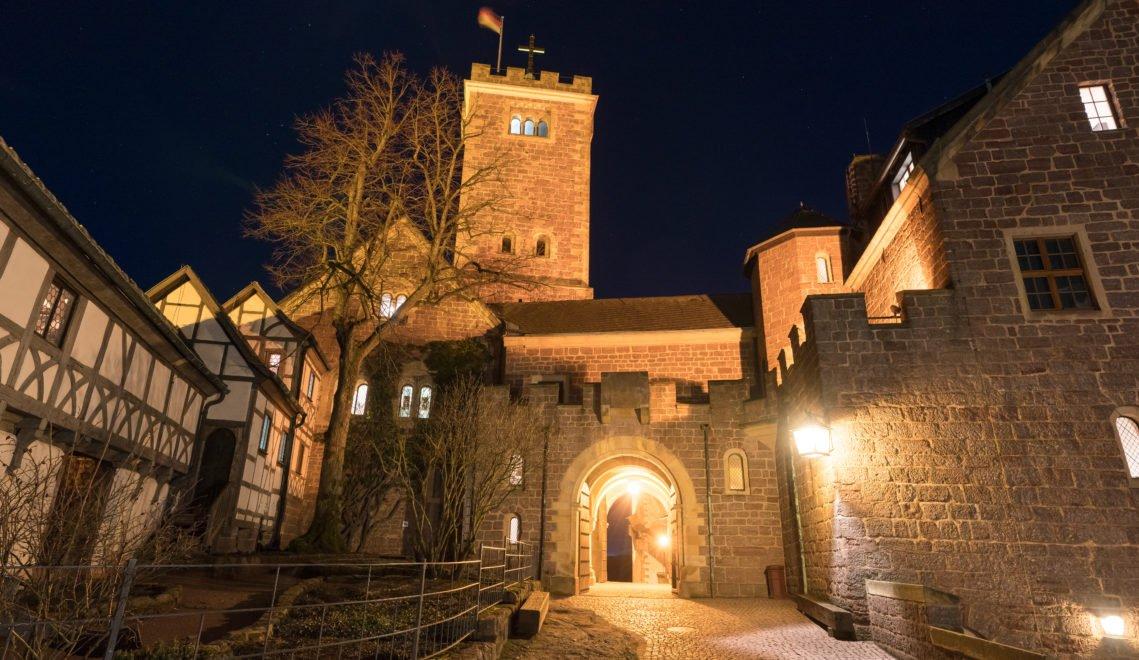 Die Wartburg – ein Ort, der seit Jahrhunderten Schauplatz der Geschichte und der Geschichten ist © Thüringer Tourismus GmbH / Moritz Kertzscher