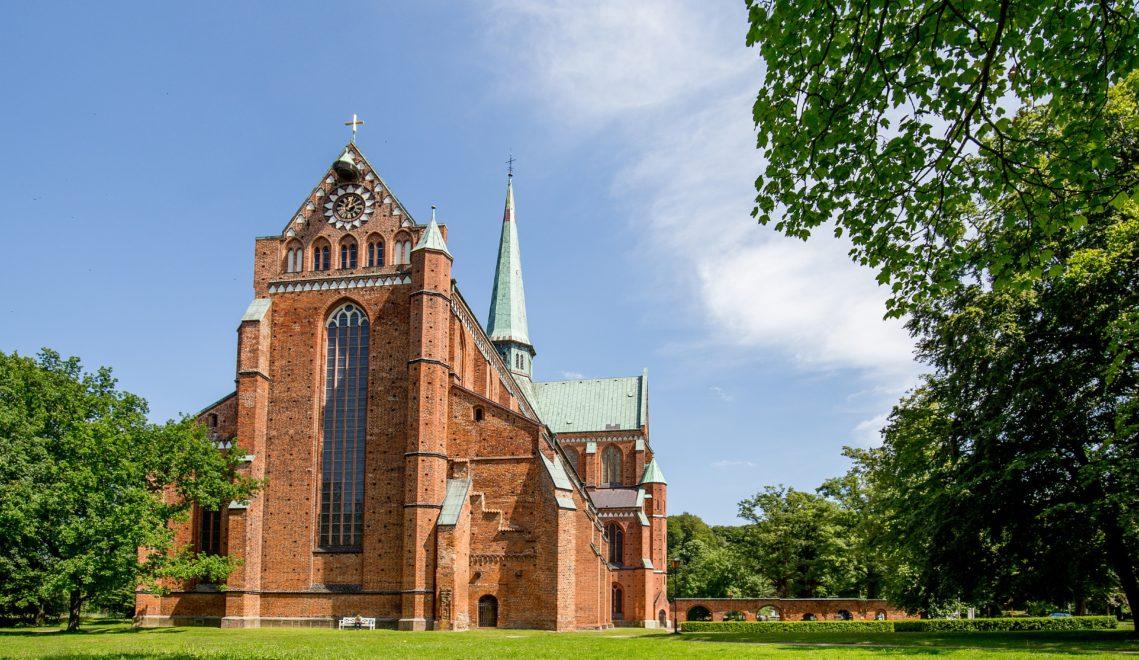 Das Doberaner Münster war bis zur Mitte des 16. Jahrhunderts die Kirche des Zisterzienser-Klosters vor Ort © TMV/Krauss