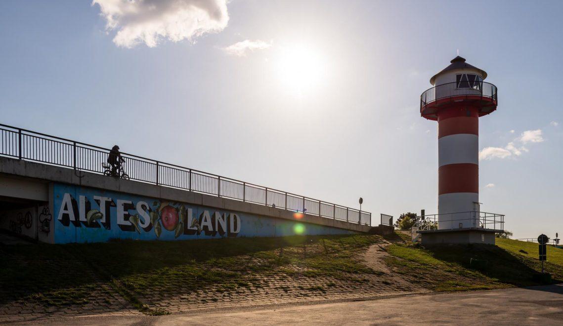 Leuchtturm im Alten Land © TMN/Markus Tiemann