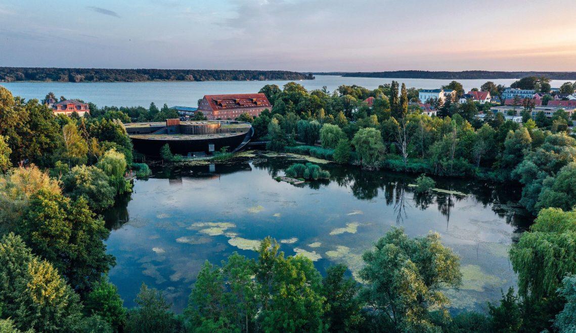 Das Müritzeum im kleinen Herrensee in Waren ist das größte Naturerlebniszentrum in der Mecklenburgischen Seenplatte