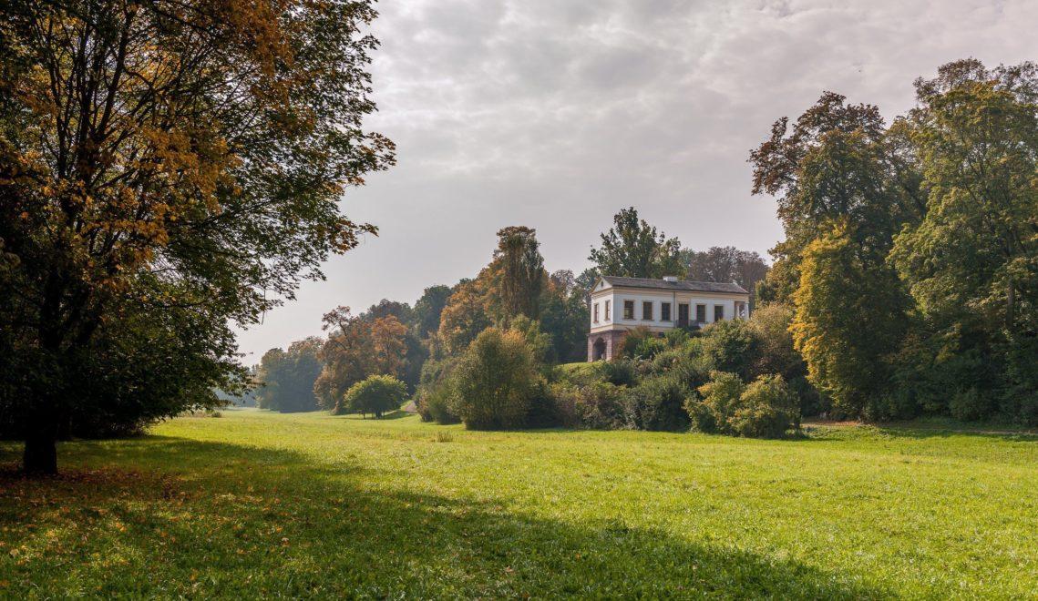 Goethe hilft bei der Gestaltung des Parks an der Ilm – und lässt das Römische Haus bauen © Gregor Lengler / Thüringer Tourismus GmbH