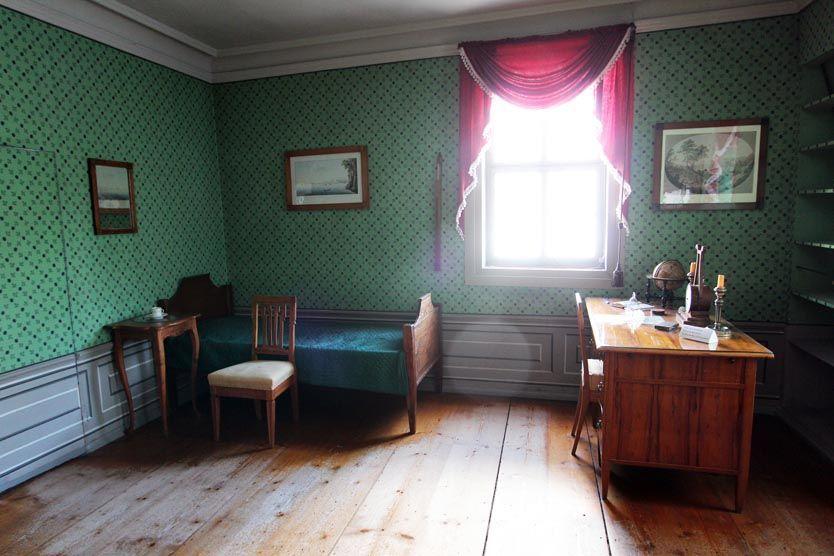 Schillers Bett und sein Schreibtisch in Weimar © Christiane Würtenberger / CMR