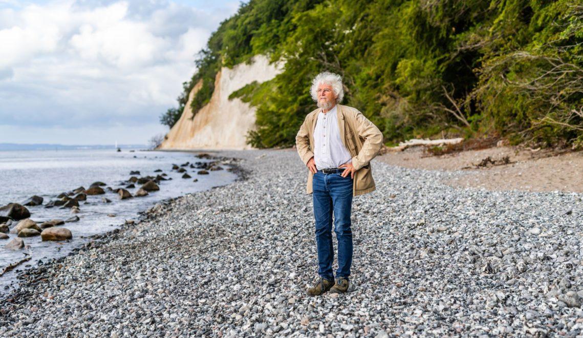 Der gebürtige Rüganer Dr. Hans-Dieter Knapp gilt als Gründervater des Nationalparks Jasmund © TMV/Markus Tiemann
