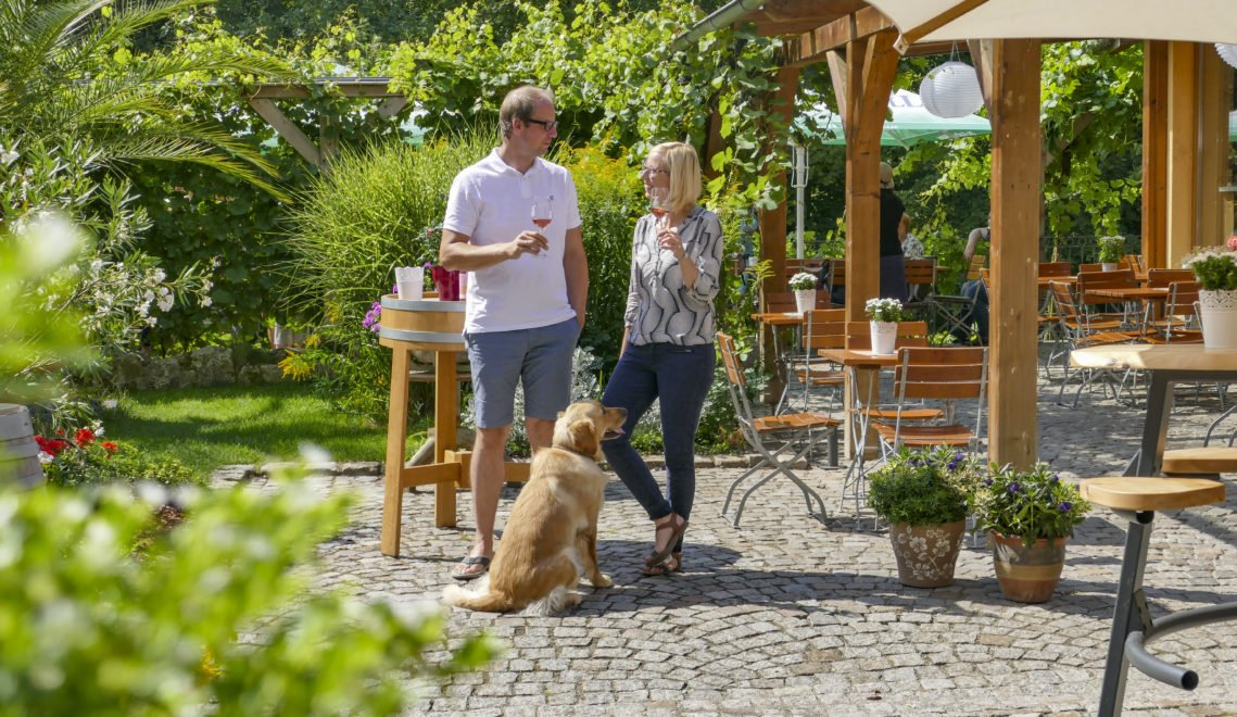 Elvira und ihr Mann Torsten leiten das Weingut in zweiter Generation © Anne Schüßler / CMR