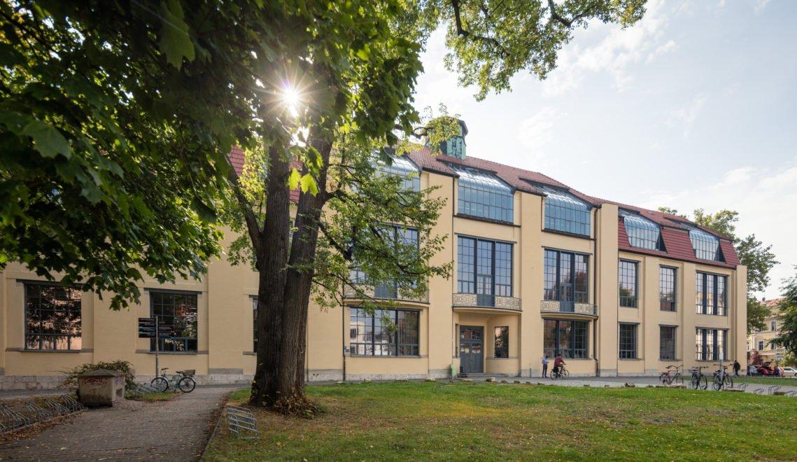 Das von Henry van de Velde entworfene Hautpgebäude der Bauhaus-Universität Weimar © Alexander Burzik / Impulsregion Erfurt, Weimar, Jena, Weimarer Land