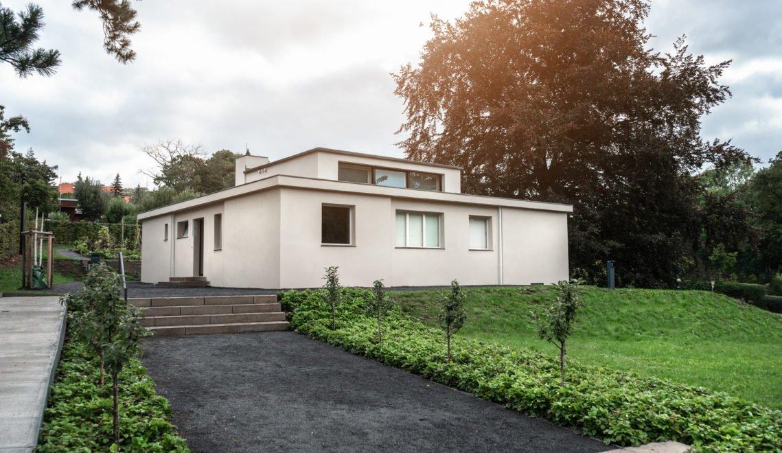 Das Haus Am Horn – den Bauhaus-Bungalow entwarf Georg Muche für die Bauhausausstellung 1923 © Thüringer Tourismus GmbH / Dominik Saure
