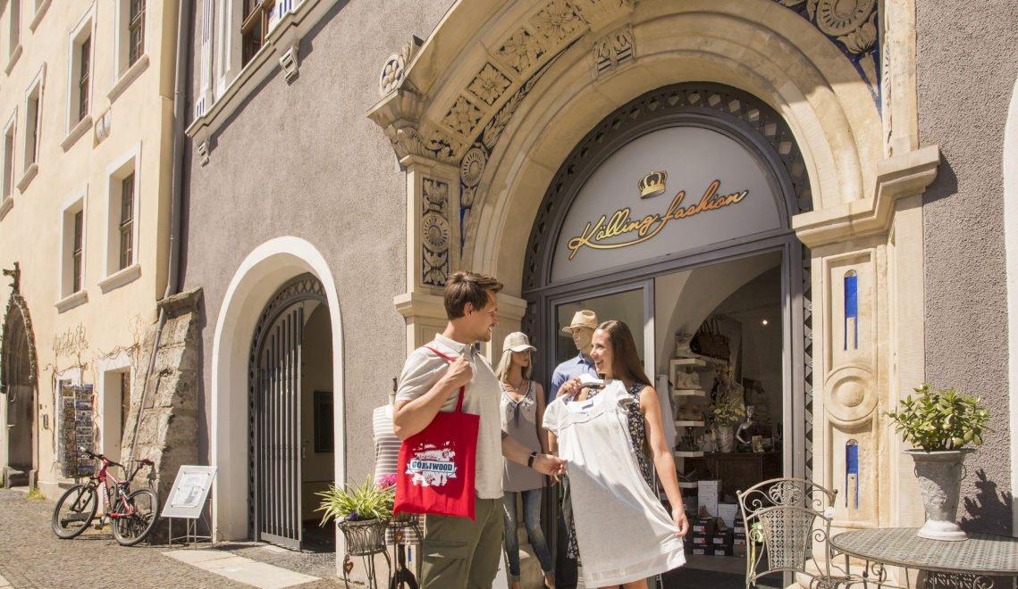 In der Europastadt macht das Shopping Spaß © Katja Fouad Vollmer
