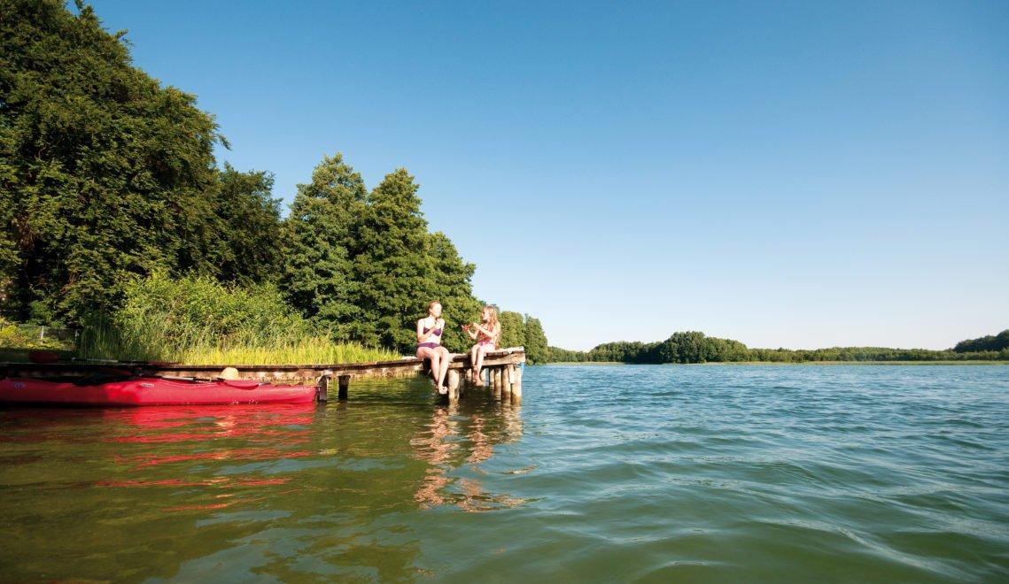 Mach mal Pause – Kanu fahren macht natürlich auch hungrig © TMB-Fotoarchiv / Hendrik Silbermann