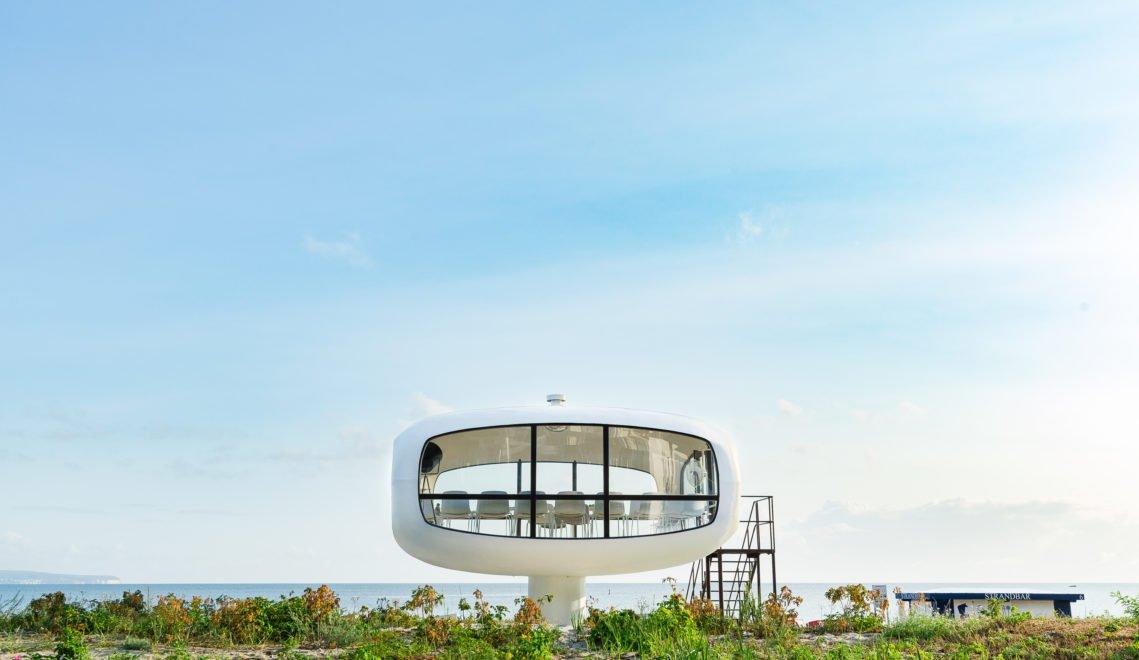 Ein ungewöhnlicher Ort zum Heiraten ist dieser Rettungsturm am Strand von Binz © Andreas [FranzXaver] Süß