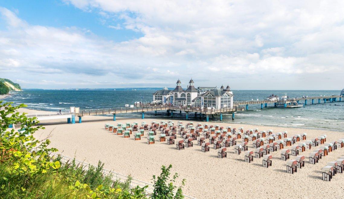Zu den besten Fotomotiven in Mecklenburg-Vorpommern zählt die Seebrücke von Sellin © Andreas [FranzXaver] Süß