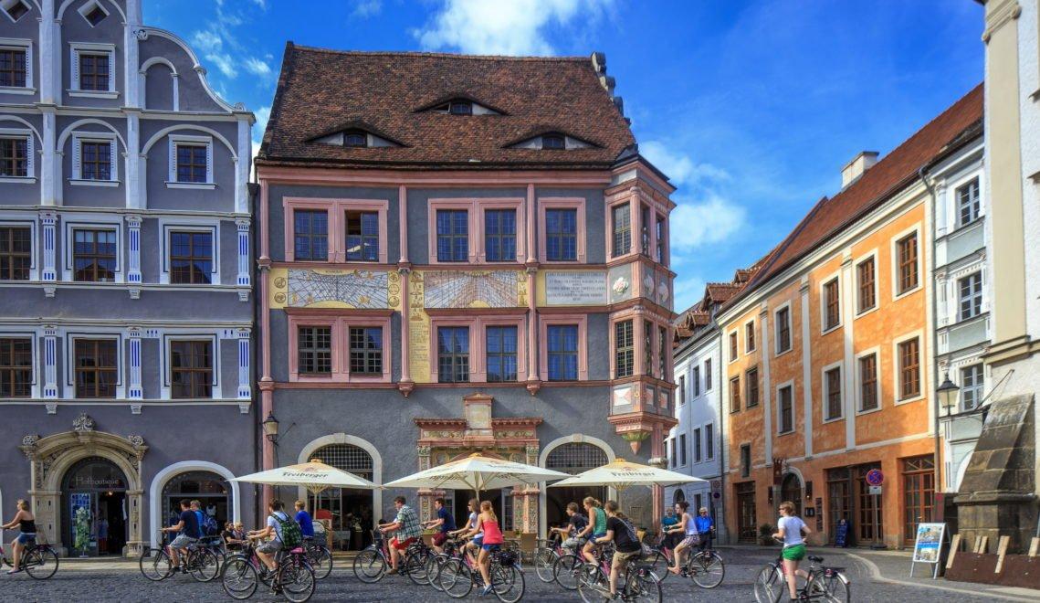 Man kommt auch gut mit dem Fahrrad durch das Görlitzer Zentrum © RainerWeisflog
