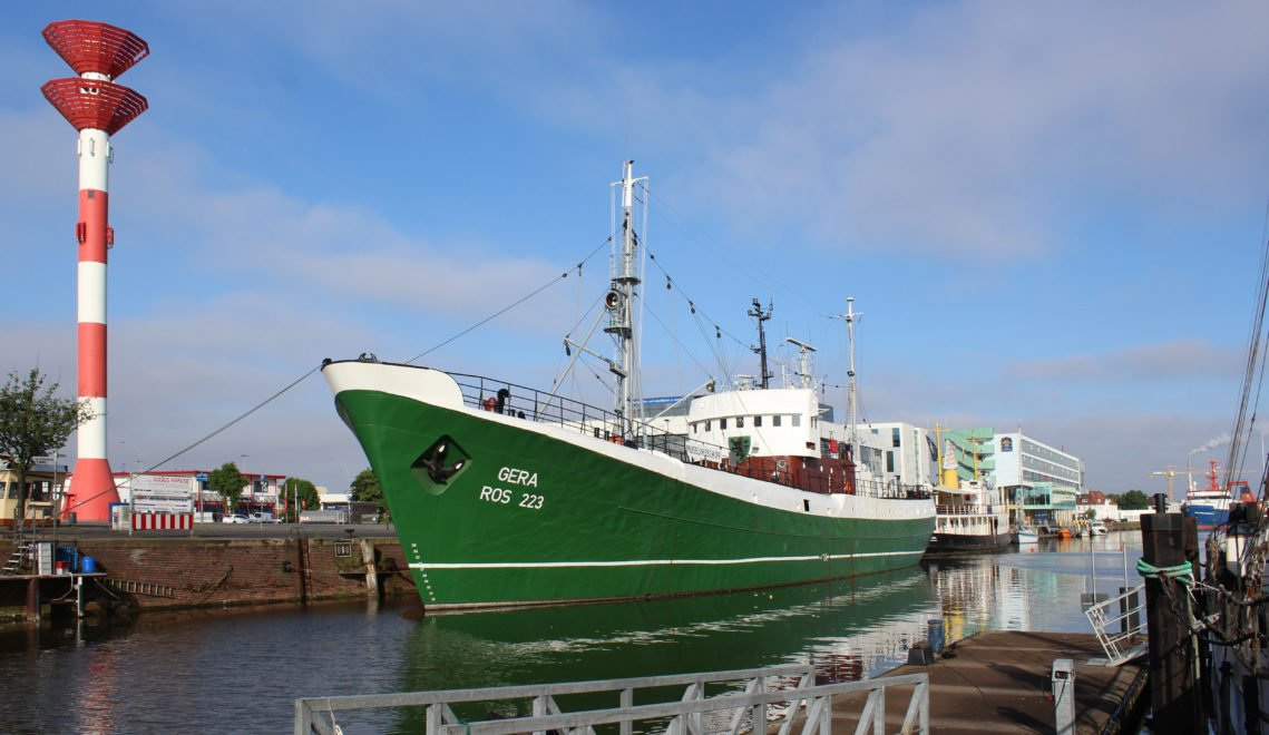 Bei der Tour de Fisch wird der historische Seitentrawler Gera besichtigt © Tanja Mehl_Erlebnis Bremerhaven