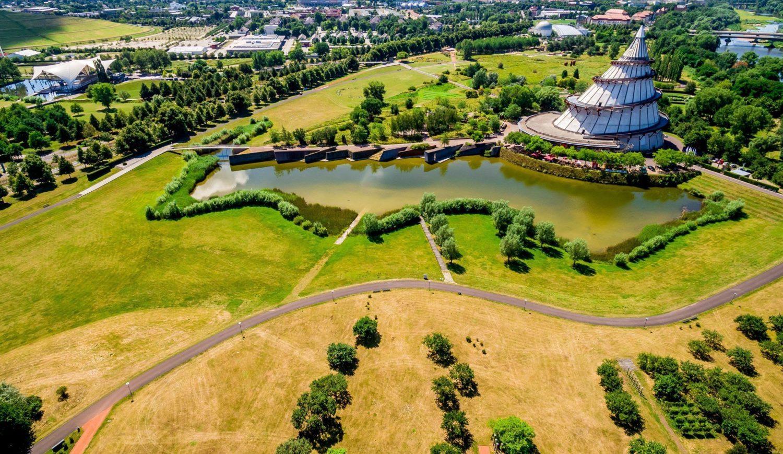 Der Elbauenpark ist ein ideales Naherholungsgebiet für Magdeburger ©MVGM GmbH, Foto: Andreas Lander