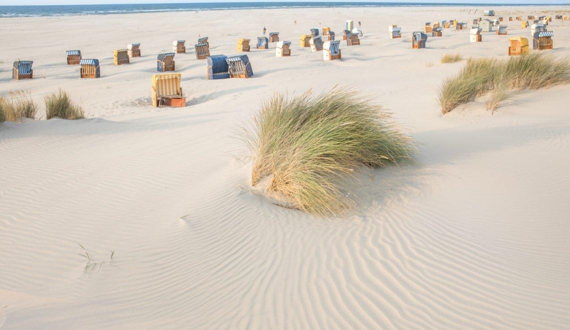 Feinster Sand und Platz ohne Ende – der Strand der Insel Juist © Dietmar Scherf