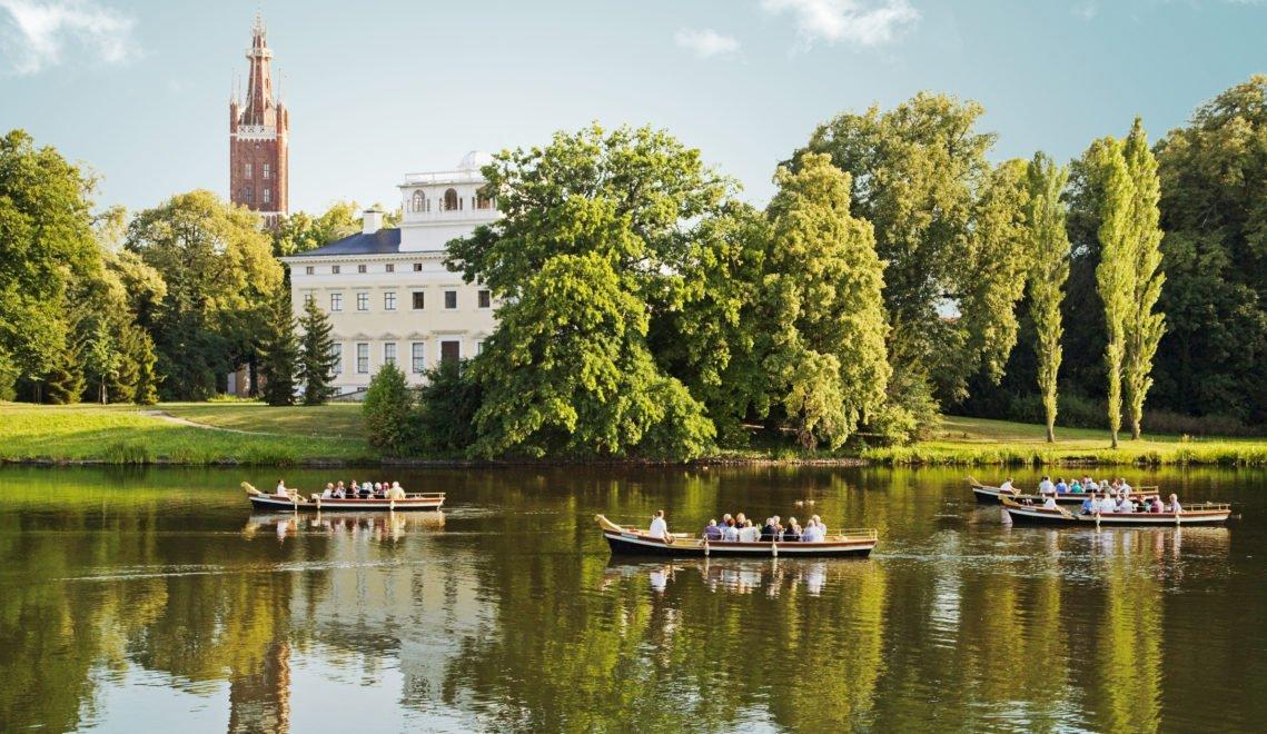 Der Wörlitzer See ist ein zauberhafter Ort zum Ausspannen © Kulturstiftung Dessau-Wörlitz