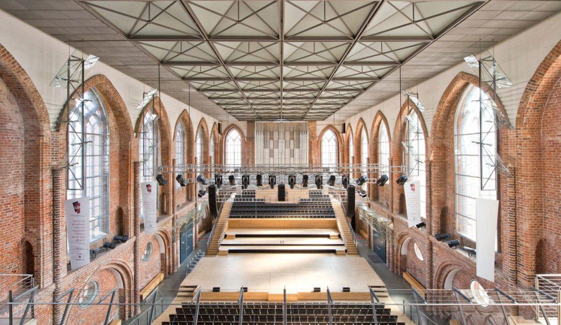 Seit 2001 finden in der wiederaufgebauten Kirche Konzerte statt © Christin Druehl