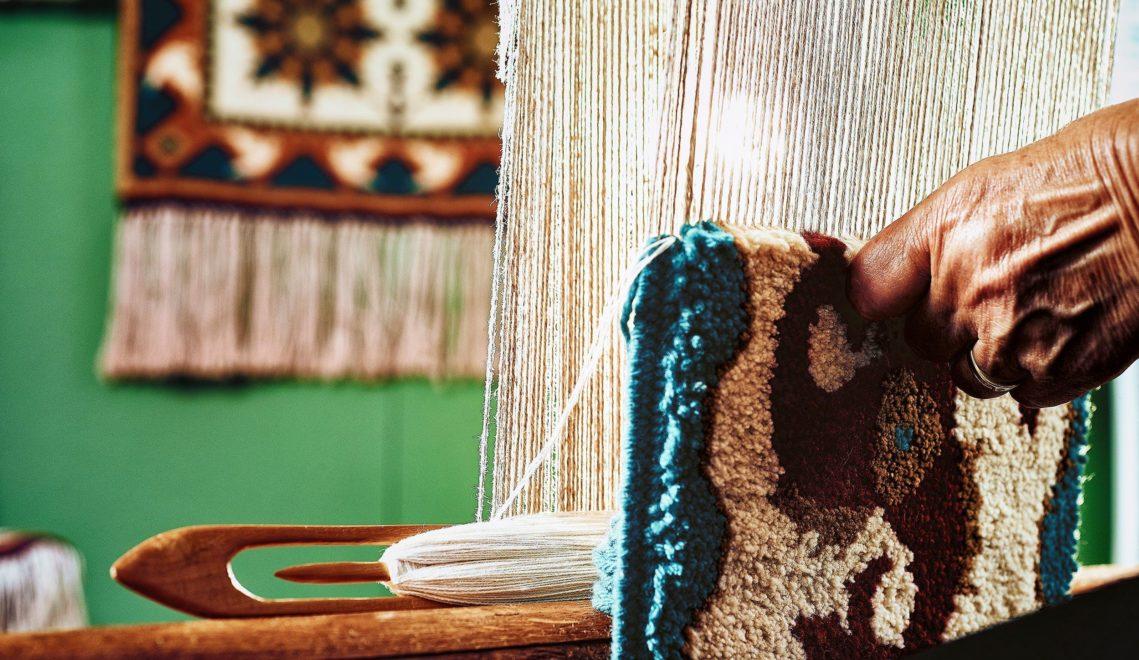 Traditionelle Fischerteppiche sind im Heimatmuseum zu sehen © TMV/pocha.de