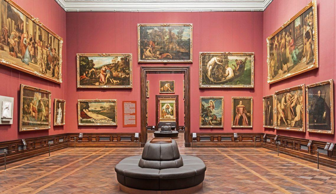 Mehr als 700 Kunstwerke aus dem 15. bis 18. Jahrhundert sind der Gemäldegalerie Alte Meister ausgestellt © SKD/H.C. Krass