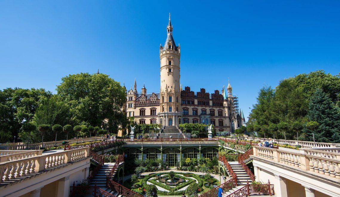 Barockgarten nach französischem Vorbild © TMV/Kirchgessner
