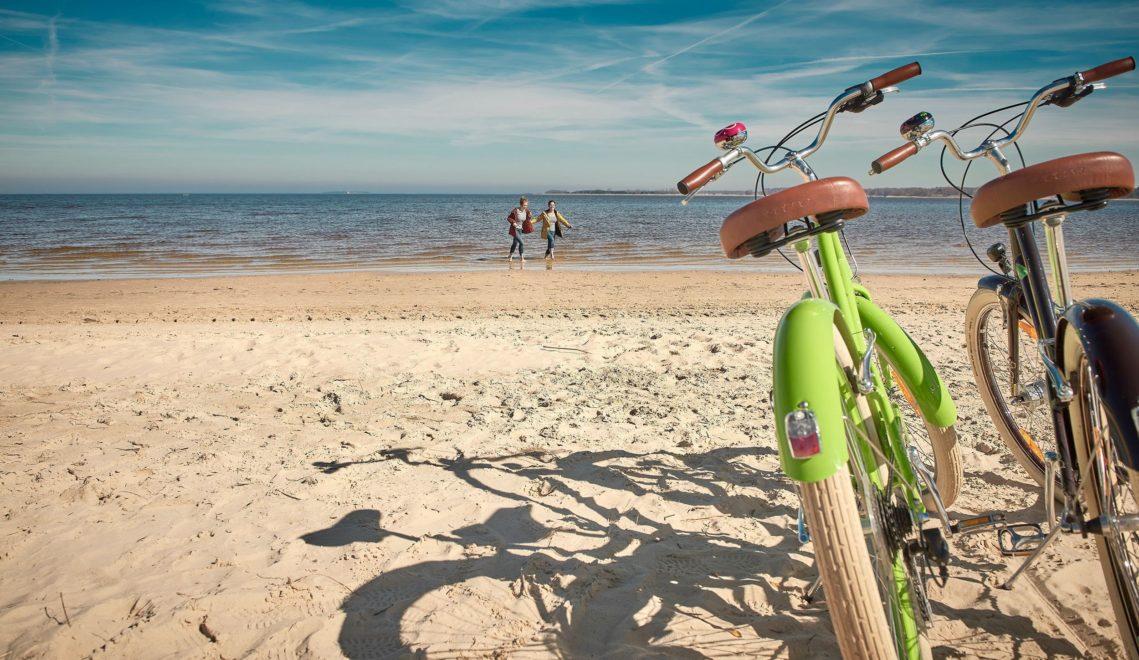 Entspannen am Strand von Freest © TMV/pocha.de