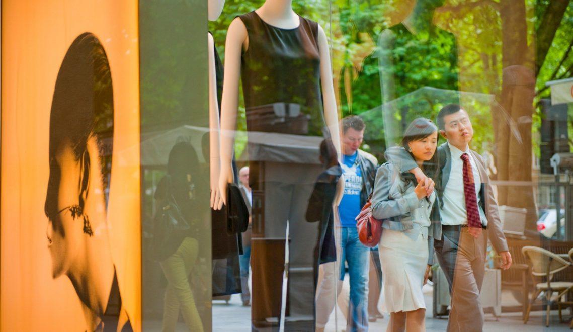 Auf der Kö reihen sich schicke und noble Läden aneinander © Oliver Franke, Tourismus NRW e.V.