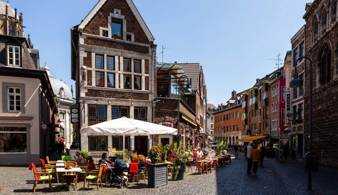 Die Aachener Innenstadt lädt zum Bummeln ein ©Tourismus NRW e.V.