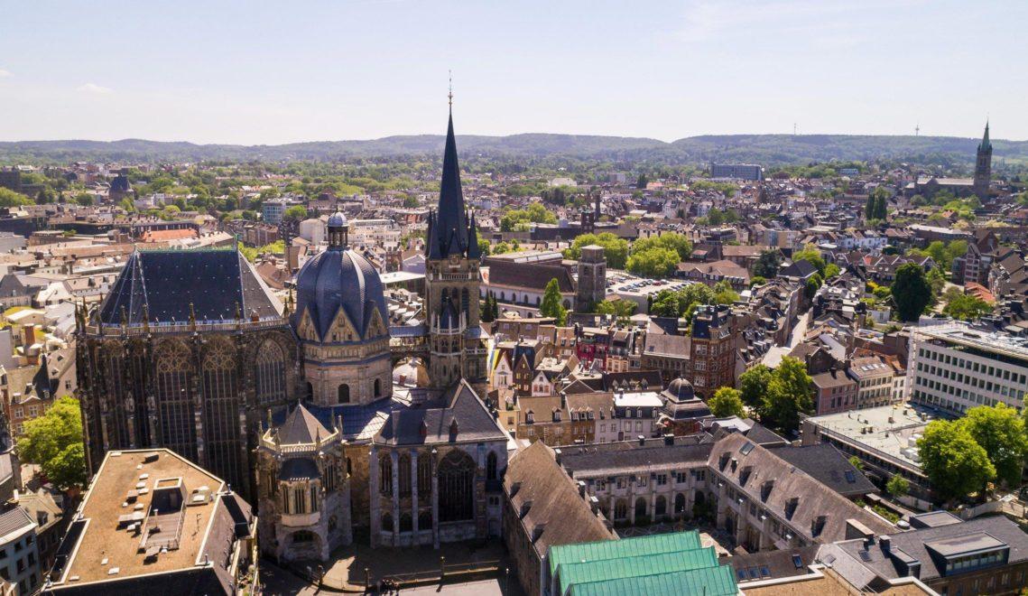Wahrzeichen des Aachener Doms: sein achteckiger Grundriss ©Tourismus NRW e.V.