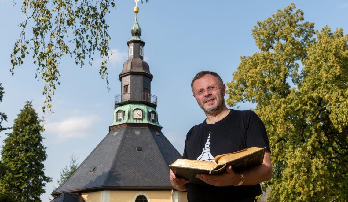 Unter anderem auch die berühmte Bergkirche, in der Michael Harzer Gottesdienste abhält © Andreas Krone