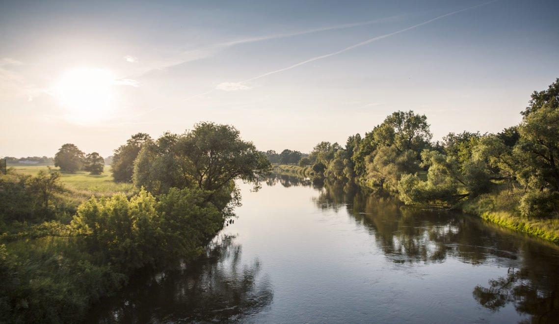 Erholung versprechen die malerischen Flusslandschaften der Mulde © Katja Fouad Vollmer