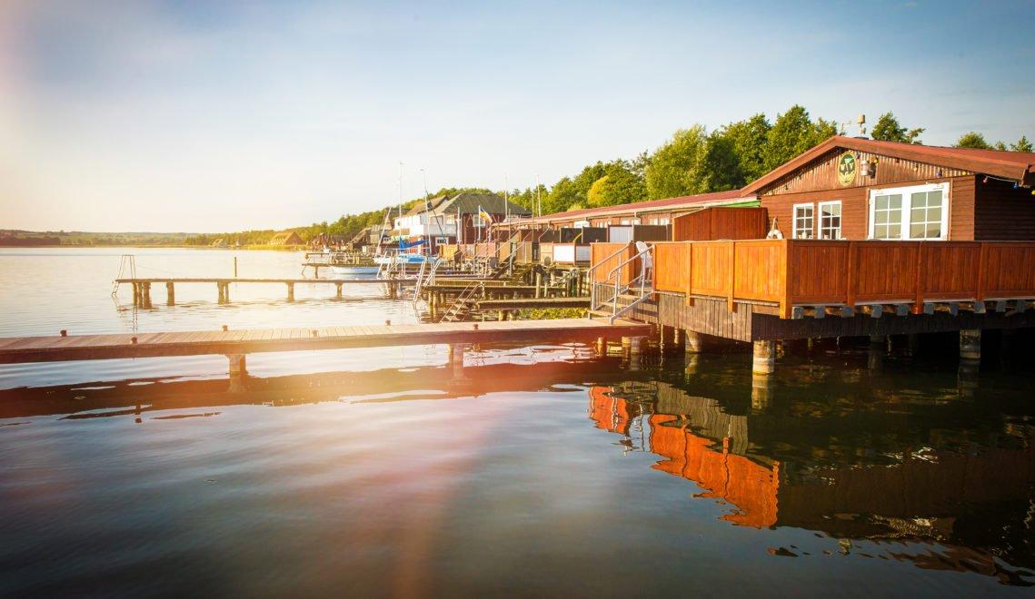 Bootshäuser am Inselsee