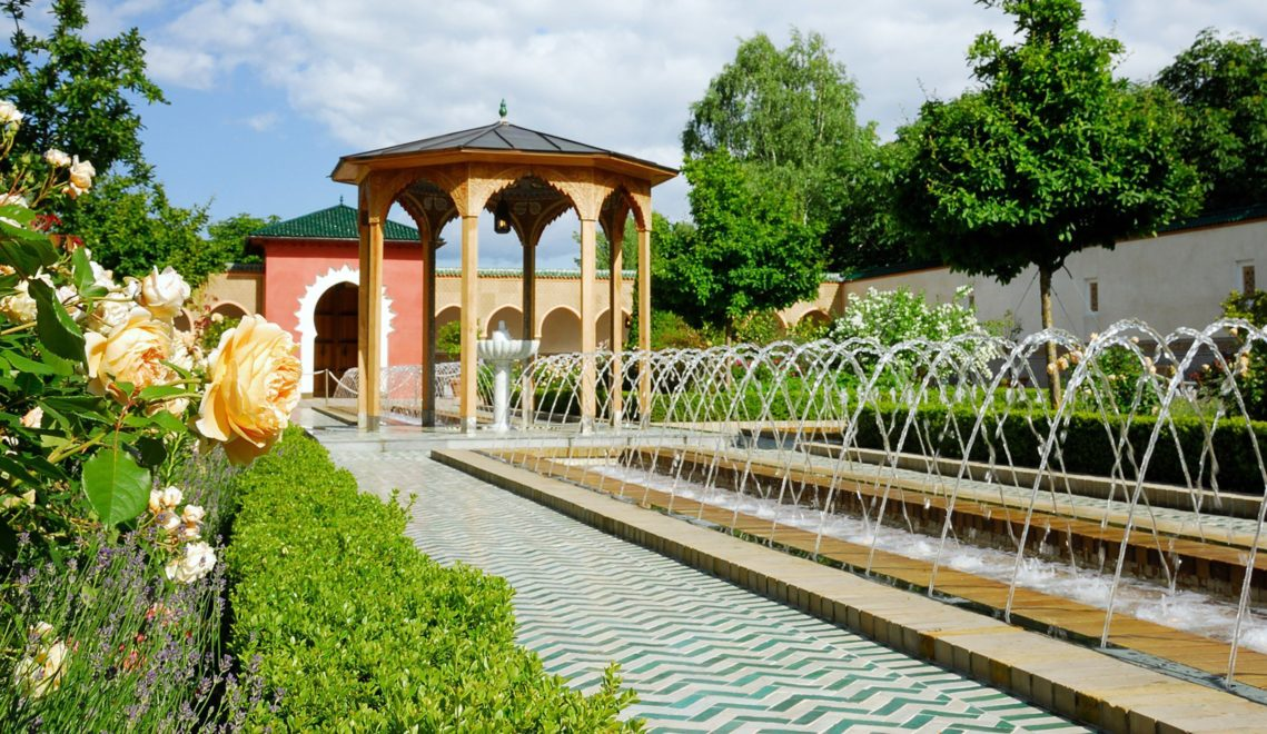 Orientalischer Garten im Erholungspark Marzahn © Grün Berlin GmbH, Foto: Holger Koppatsch
