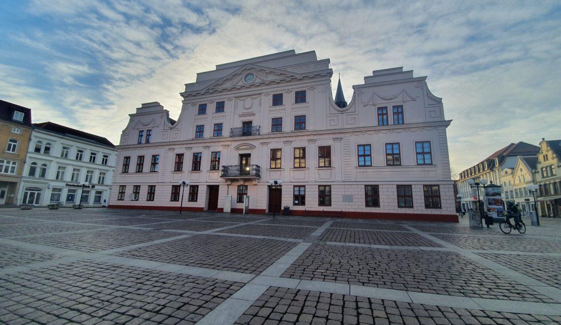 Das Güstrower Rathaus