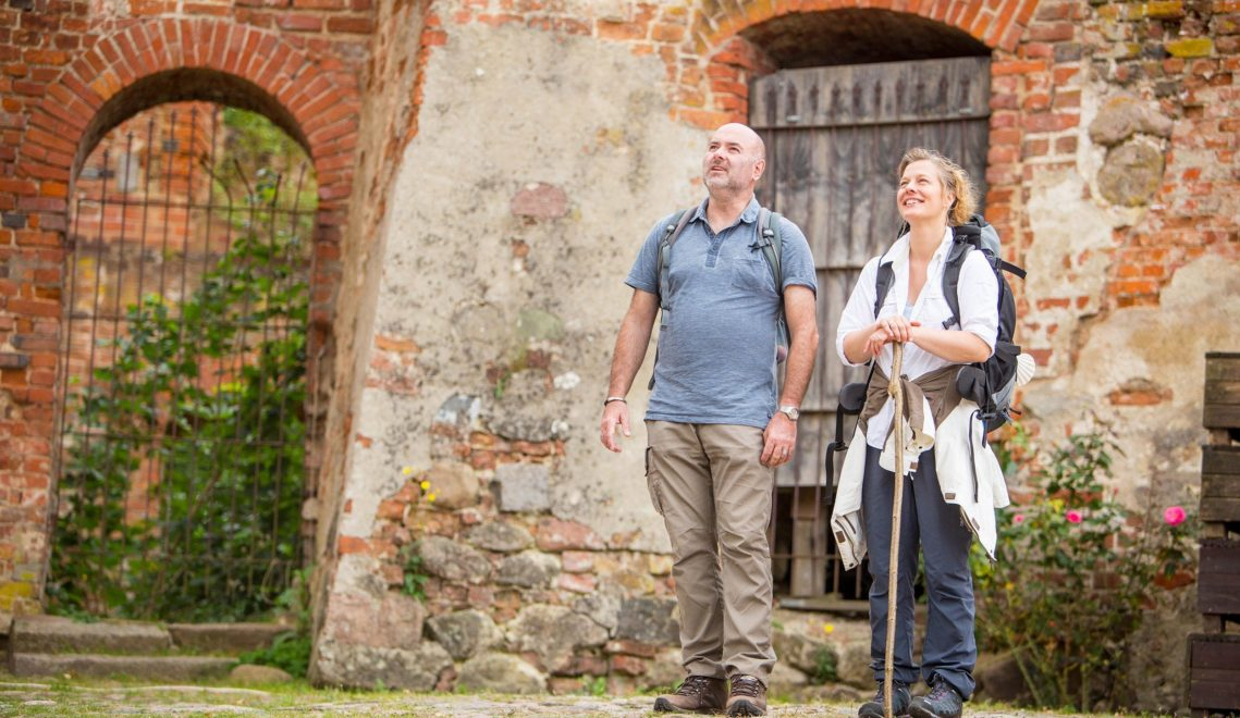 Auf dem Areal eines der ältesten Bauwerke Mecklenburg-Vorpommerns können Besucher noch elf Gebäude besichtigen © susanne-krauss.de
