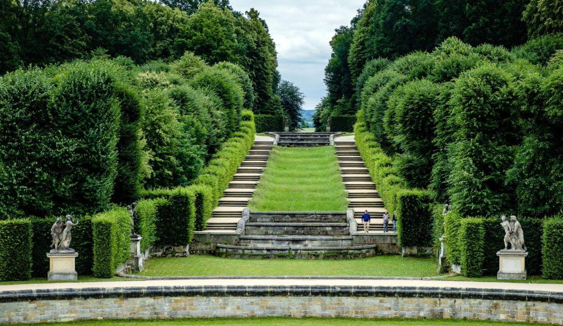 Im nach französischem Vorbild gestaltetem Teil des Barockgartens Großsedlitz © Franco Cogoli