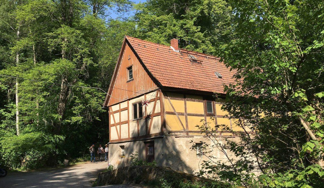 Die Grundmühle aus dem 18. Jahrhundert steht heute unter Denkmalschutz © Nadine Wojcik
