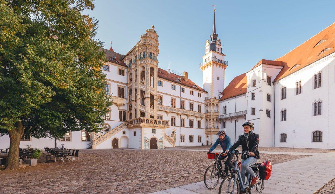 Zwischenstopp im Renaissanceschloss Hartenfels in Torgau © Felix Meyer