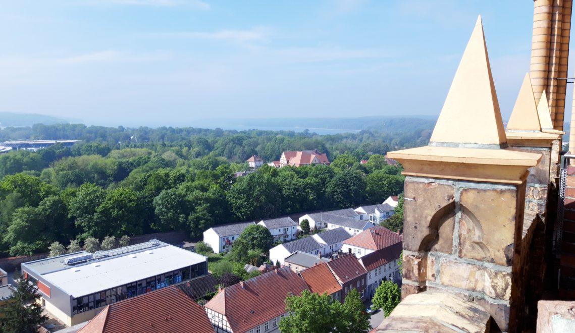 Blick über Neubrandenburg
