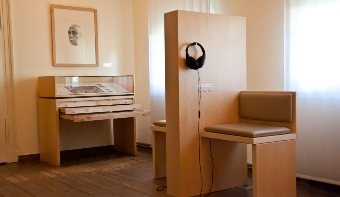 In sieben Räumen erfahren Besucher mehr aus dem fast 50-jährigen künstlerischen Schaffens von Käthe Kollwitz © Stiftung Käthe-Kollwitz-Haus/Ingo Severin