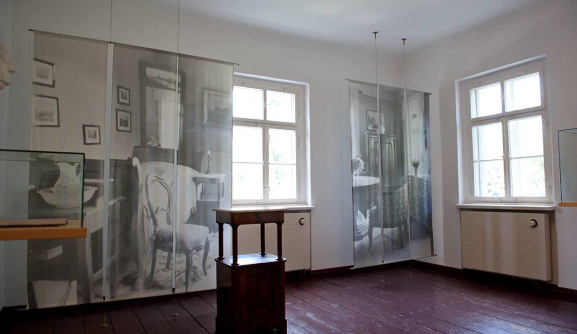 Im Sterbezimmer der weltweit geschätzten Grafikerin und Bildhauerin Käthe Kollwitz © Stiftung Käthe-Kollwitz-Haus/Ingo Severin