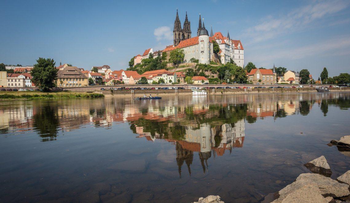 Die Meißener Albrechtsburg aus dem 10. Jahrhundert gilt als der erste Schlossbau Deutschlands © Sebastian Rose