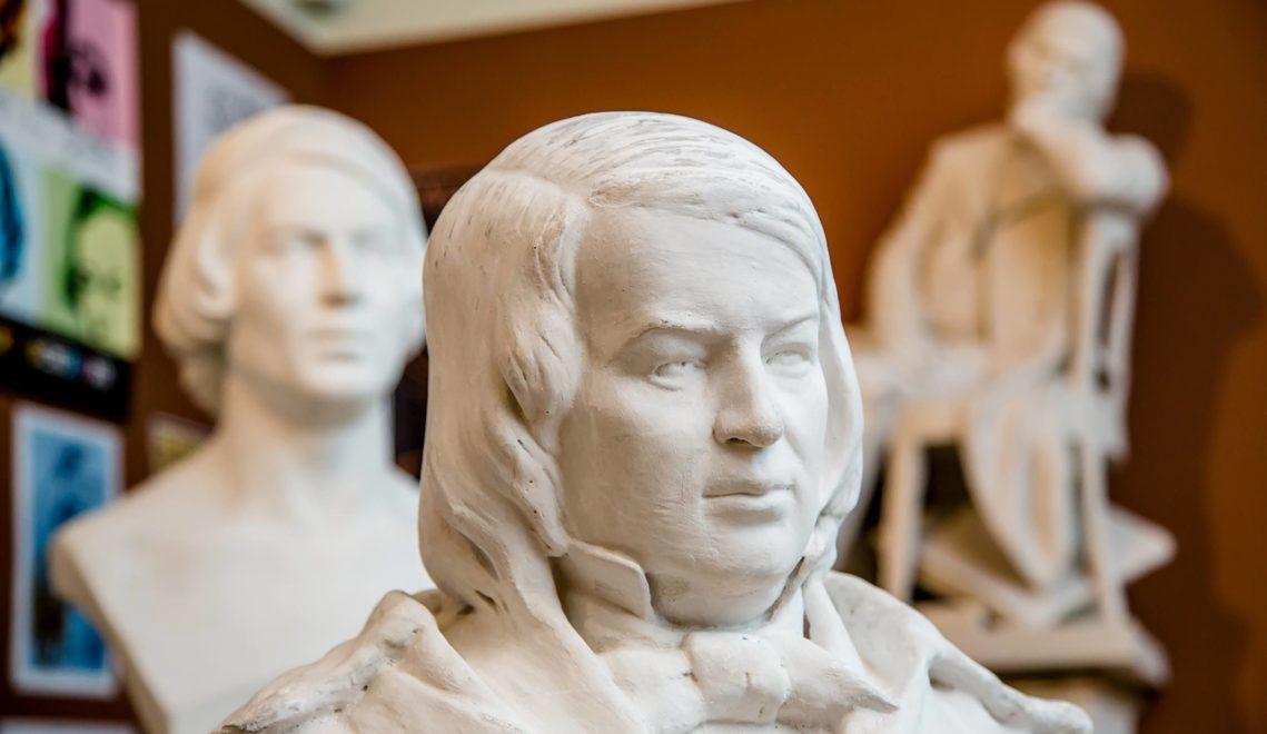 1810 wurde der bedeutende Komponist der Romantik in Zwickau geboren © Helge Gerischer