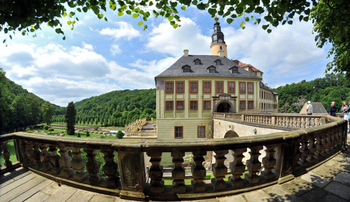 Ende des 19. Jahrhunderts erfuhr Schloss Weesenstein seinen letzten Umbau © Kristin Schmidt