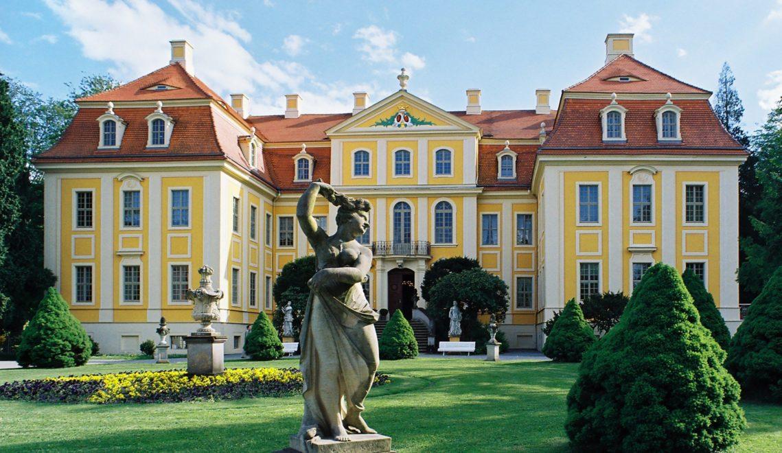 Das Barockschloss Rammenau gilt als eines der am besten erhaltenen seiner Art in Sachsen © Manfred Lohse