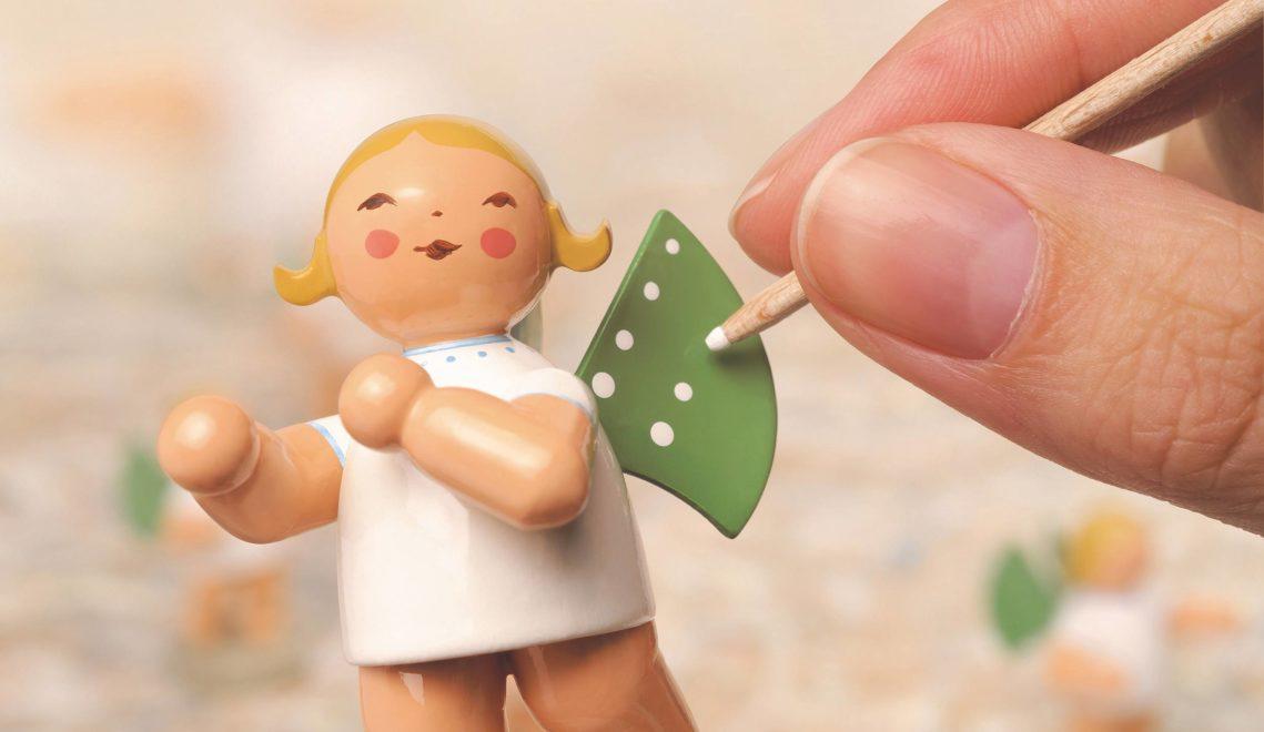 In der Wendt & Kühn-Welt Grünhainichen erfährt man viel über die Herstellung der berühmten Elfpunkteengel © Wendt & Kühn KG