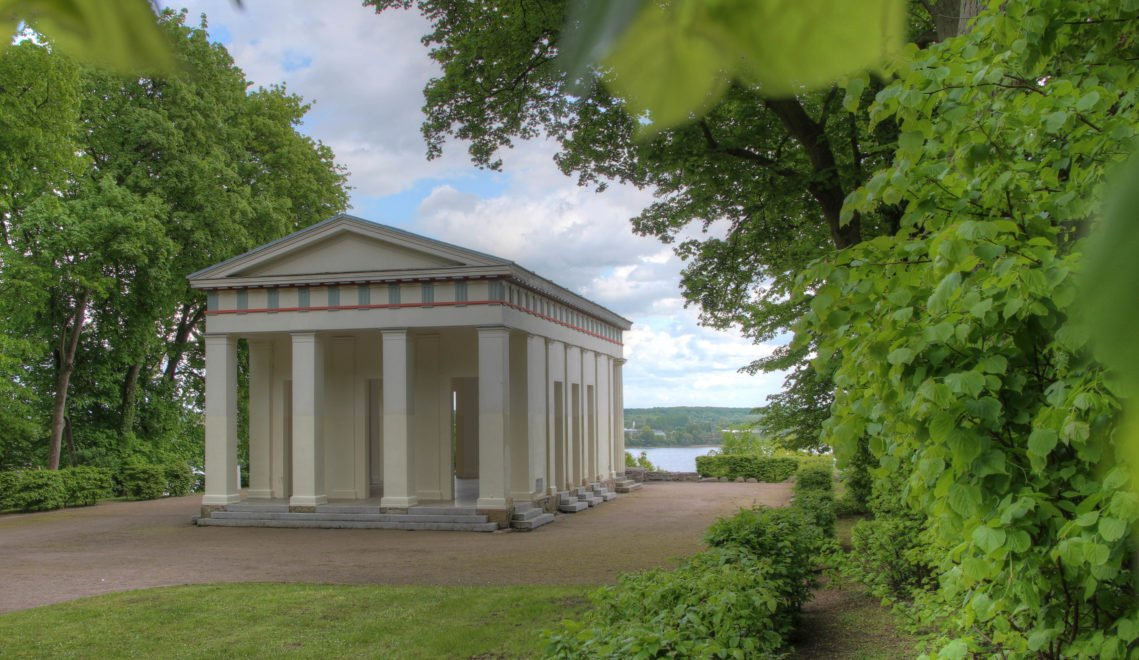 Säulenhalle im Kulturpark Neubrandenburg