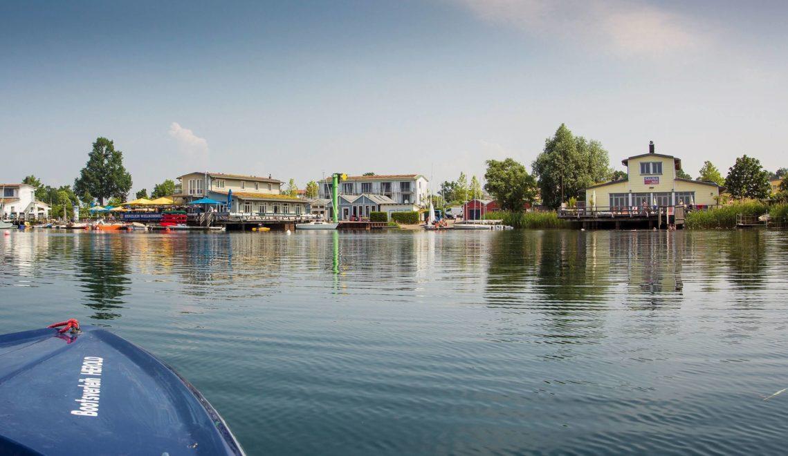 Der stadtnahe Cospudener See ist ein beliebtes Ausflugsziel © Katja Fouad Vollmer